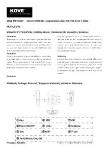 Manuel d'utilisation en PDF