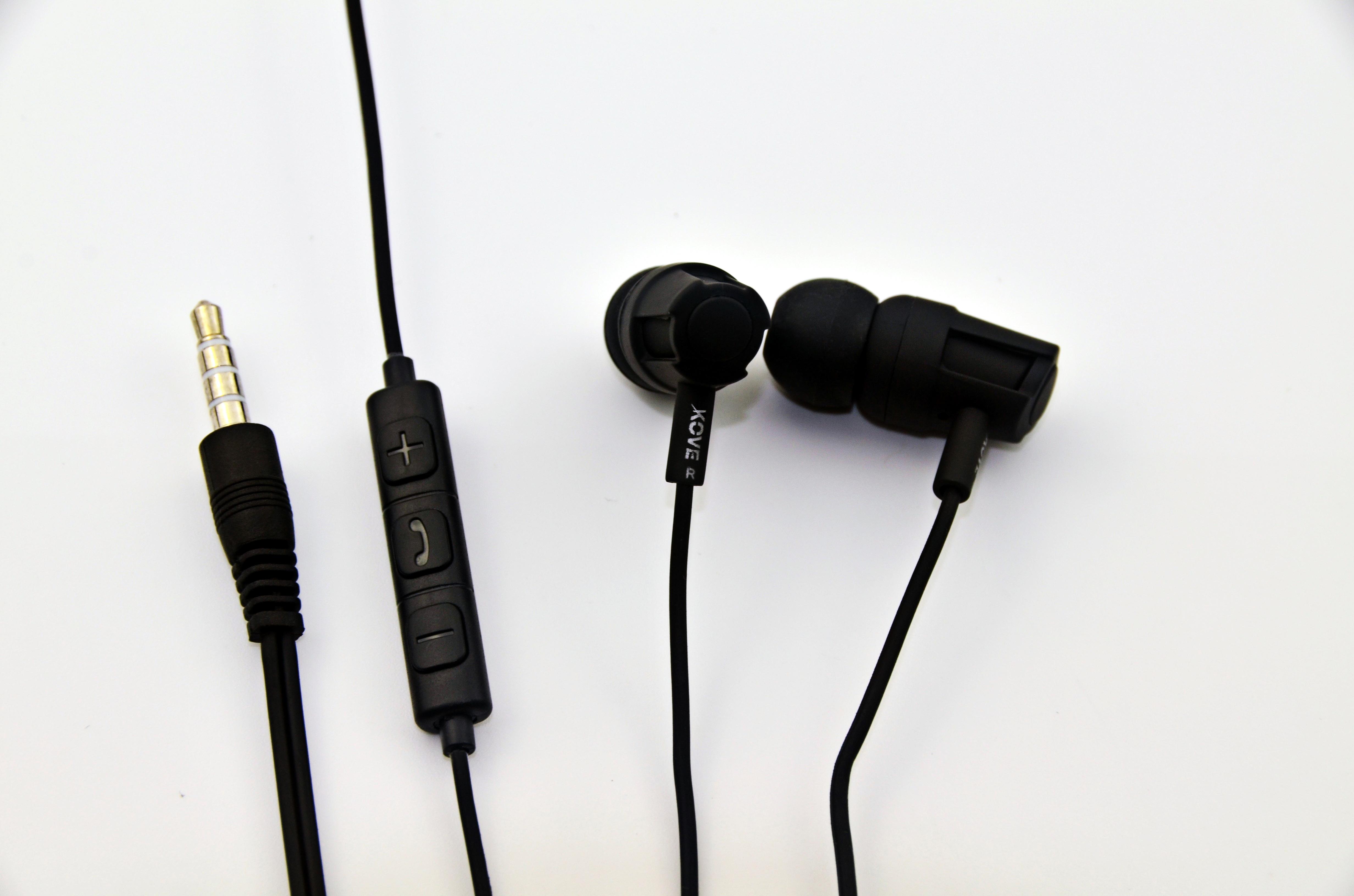 Ecouteur Avec Micro K300 Noir Kove Kove