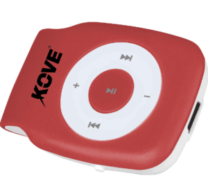 Lecteur MP3 rouge KOVE